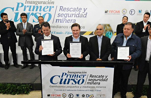 Invertirán en minería 3,200 mdd en Durango y Sinaloa