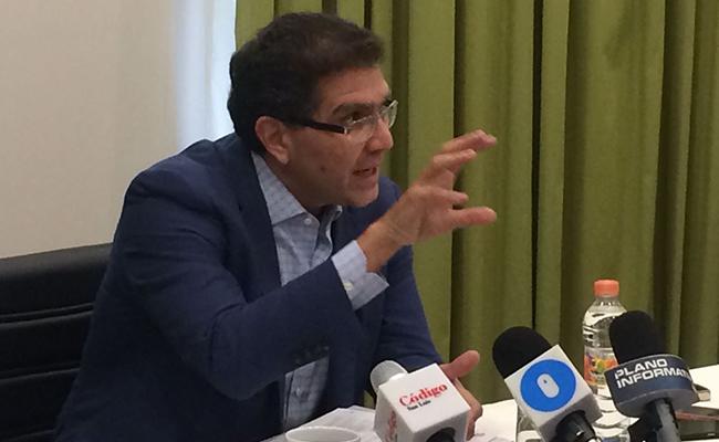 Corrupción no es problema exclusivo de SLP: Ríos Piter