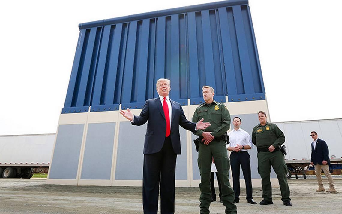 """""""Ridículo"""" el presupuesto por no incluir dinero para el muro: Trump"""