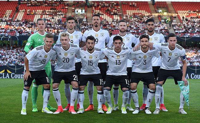 Alemania y Chile se enfrentarán hoy en la Confederaciones