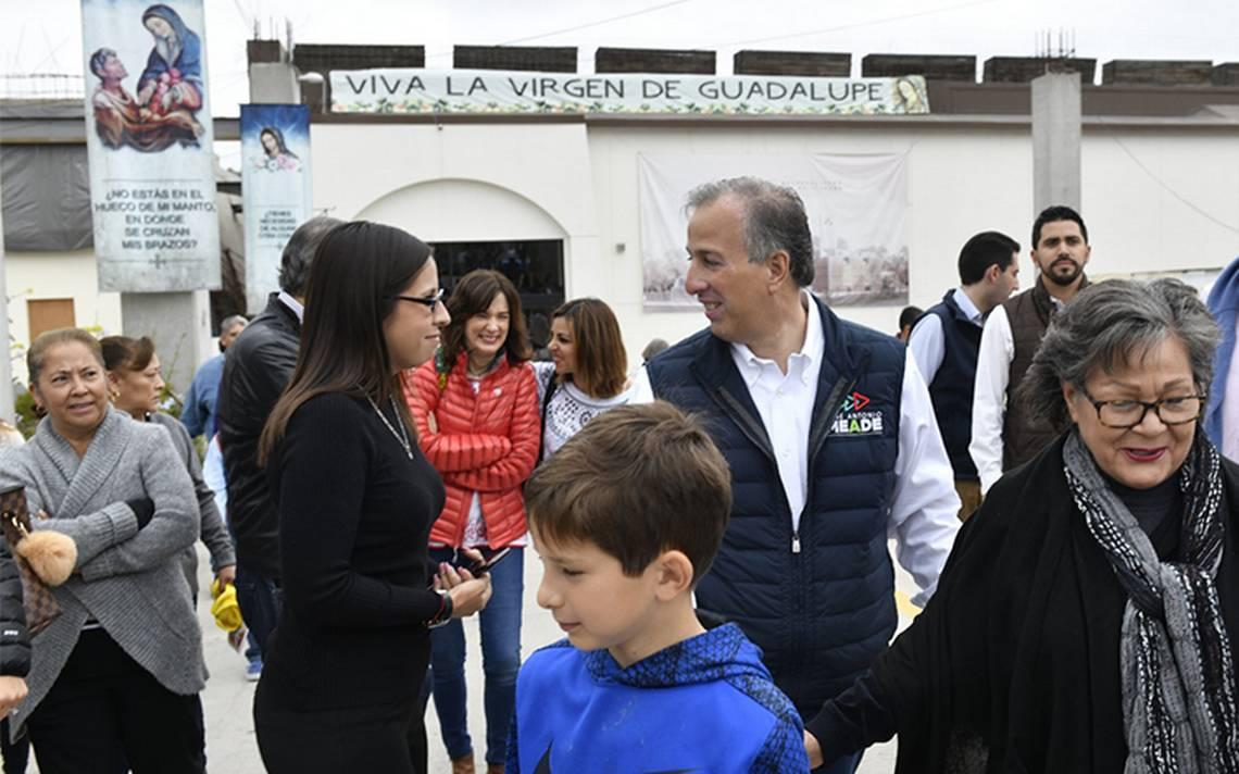 Previo al segundo debate, Meade y su esposa asisten a misa en Tijuana