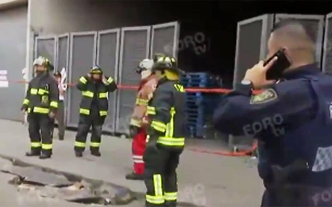 Se reaviva el fuego en Chedraui de Plaza Zentralia