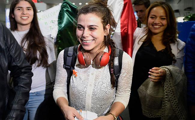 Feliz de seguir estudiando en México: primera mujer siria refugiada