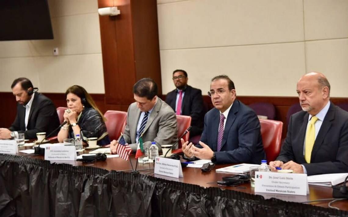 México y EU acuerdan acciones contra la trata, delincuencia y migración