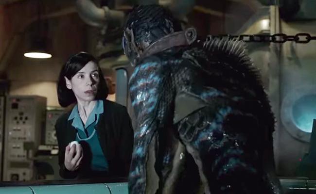 """¡Espeluznante! Revelan trailer del filme """"The Shape of Water"""""""