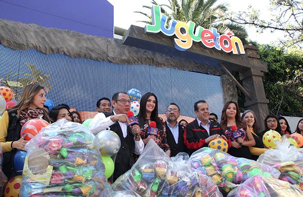 Transcurre Juguetón de  TV Azteca con apoyo de OEM