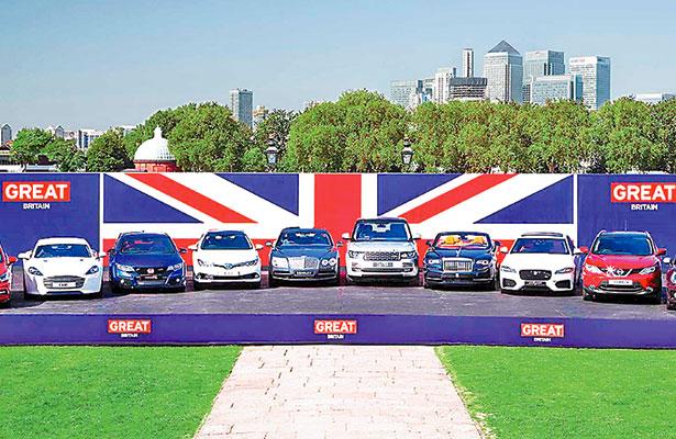 Automotrices británicas exploran oportunidad de negocio en México