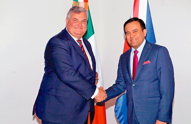 """Propone México reforzar vínculos económicos con Reino Unido a base de un acuerdo """"ambicioso"""""""