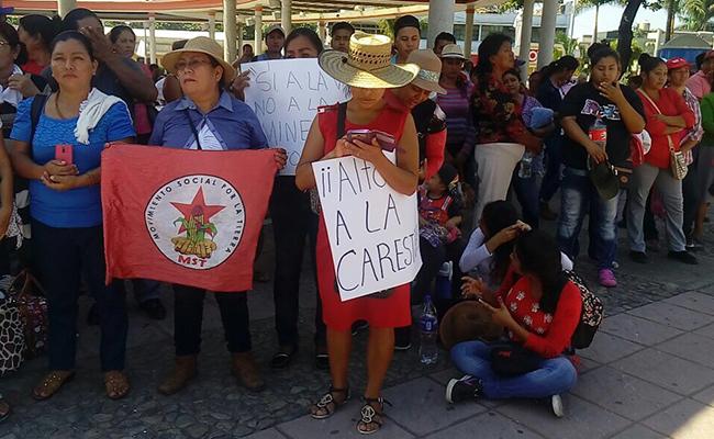 Protestan contramineras en Chiapas