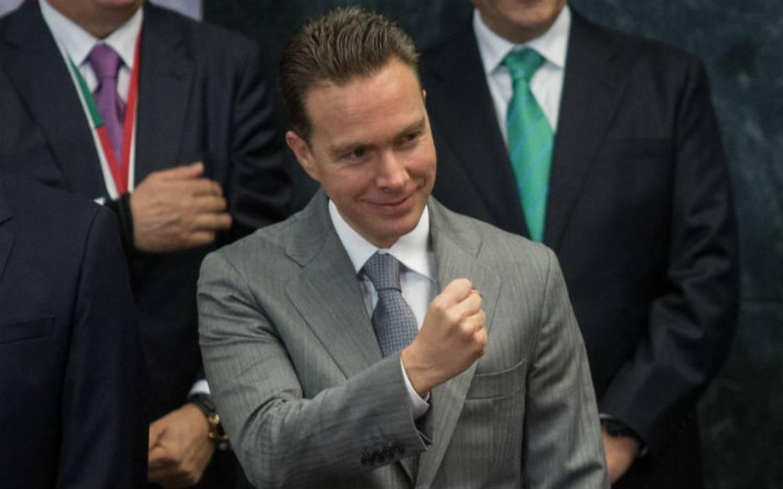 Manuel Velasco pide licencia como gobernador de Chiapas