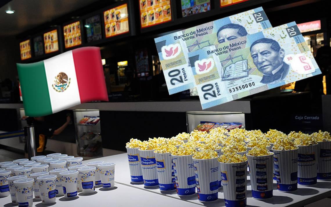 ¡Todos al cine! esto debes saber sobre las funciones de 20 pesitos en septiembre