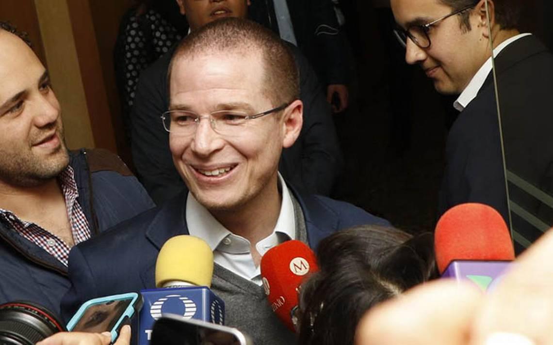 Ricardo Anaya renuncia al PAN
