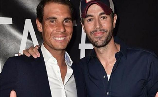¡Enrique Iglesias y Rafael Nadal, socios; inauguran restaurante!