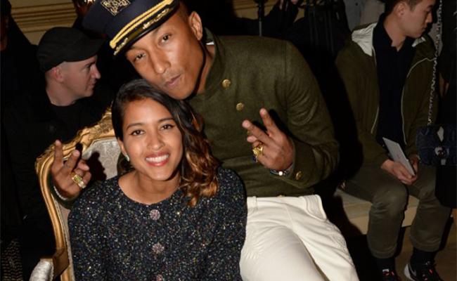 """Pharrell Williams, """"happy"""" por la llegada de sus trillizos"""