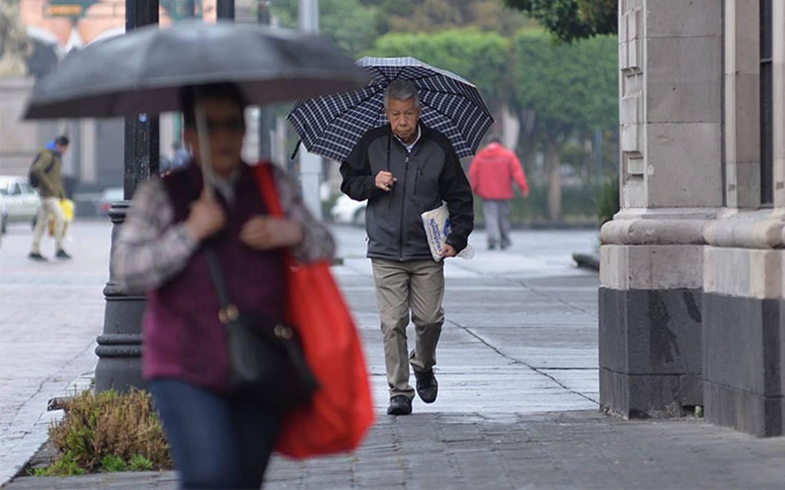Se prevén tormentas fuertes al sur y sureste del país
