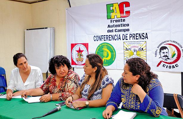 Se ha feminizado la pobreza  en el campo, denuncia la FAC