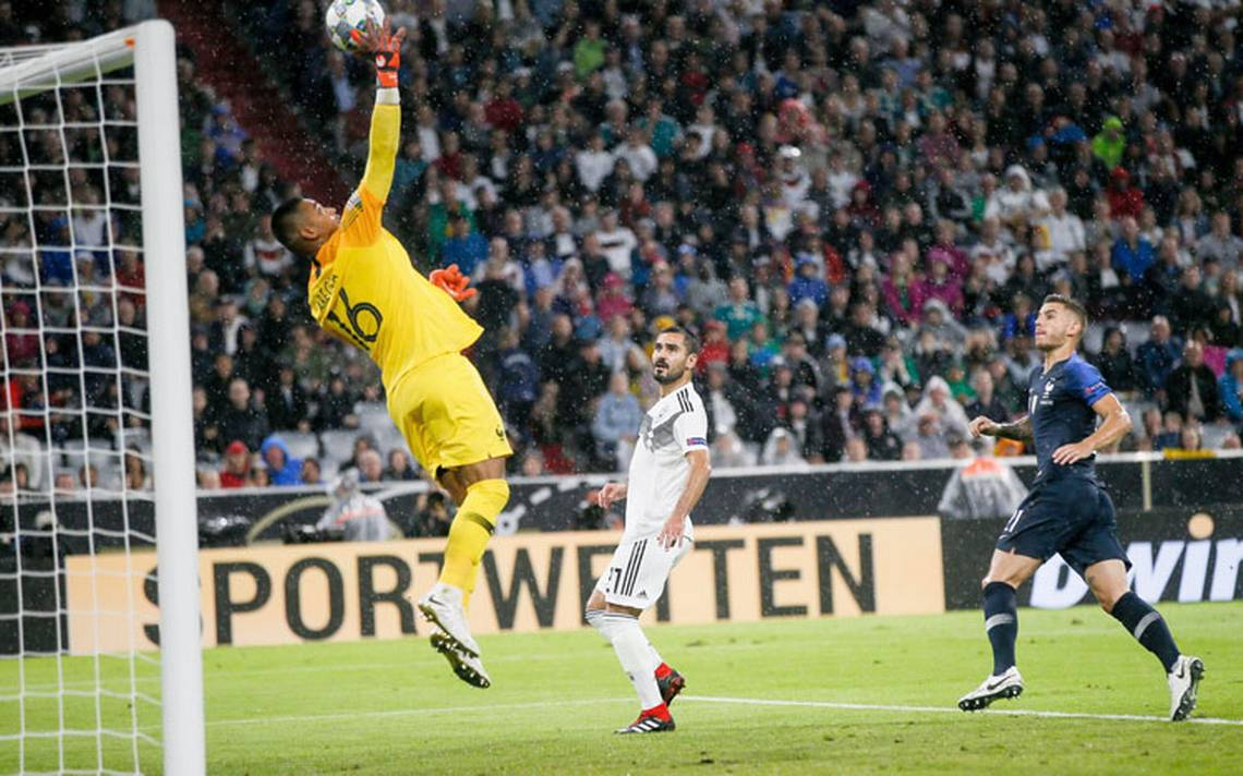 Alemania y Francia empatan a cero en el primer partido de la Liga de Naciones