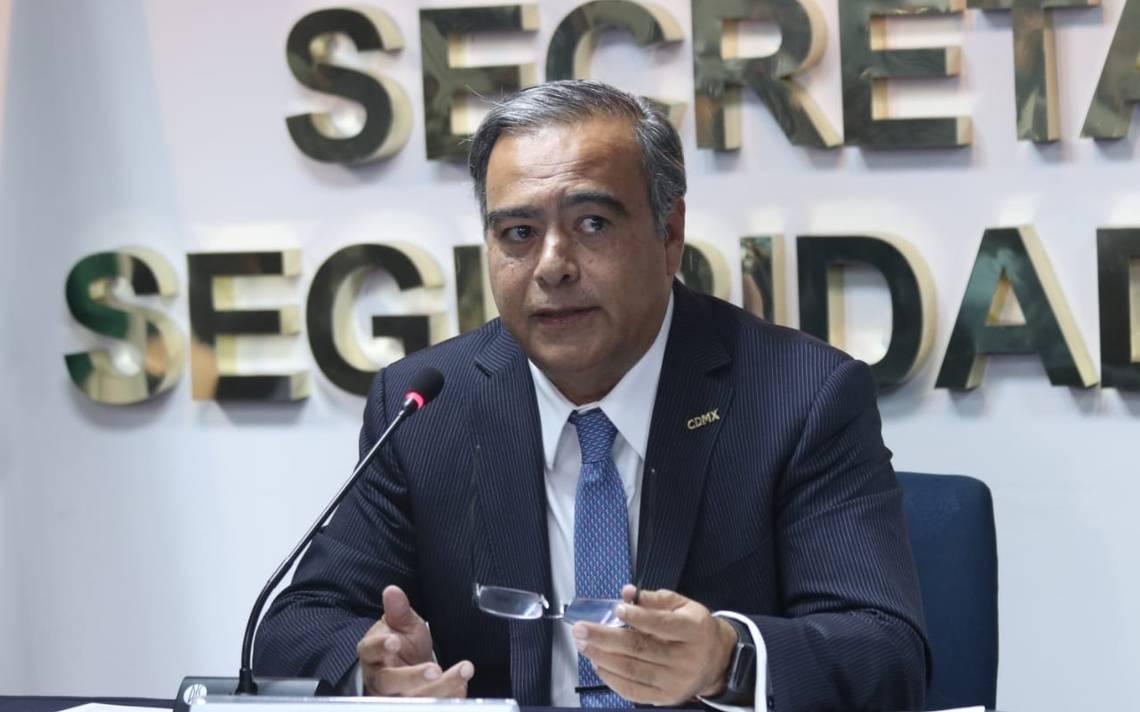 Nuevo secretario de seguridad de la CDMX rendirá informe de actividades a las 18:00 horas