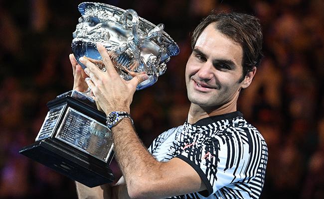 Gana Federer por quinta vez el Abierto de Australia