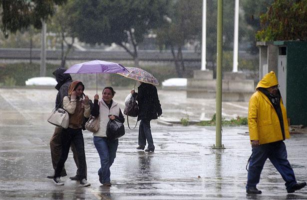 Lluvias y actividad eléctrica al sur y poniente de la Ciudad de México durante la tarde – noche