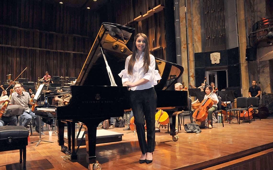 Daniela Liebman será solista en el concierto de la Orquesta Sinfónica Nacional