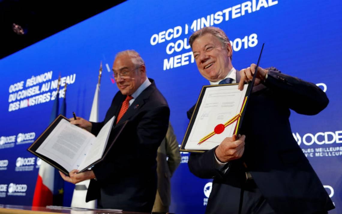 Colombia firma su adhesión a la OCDE