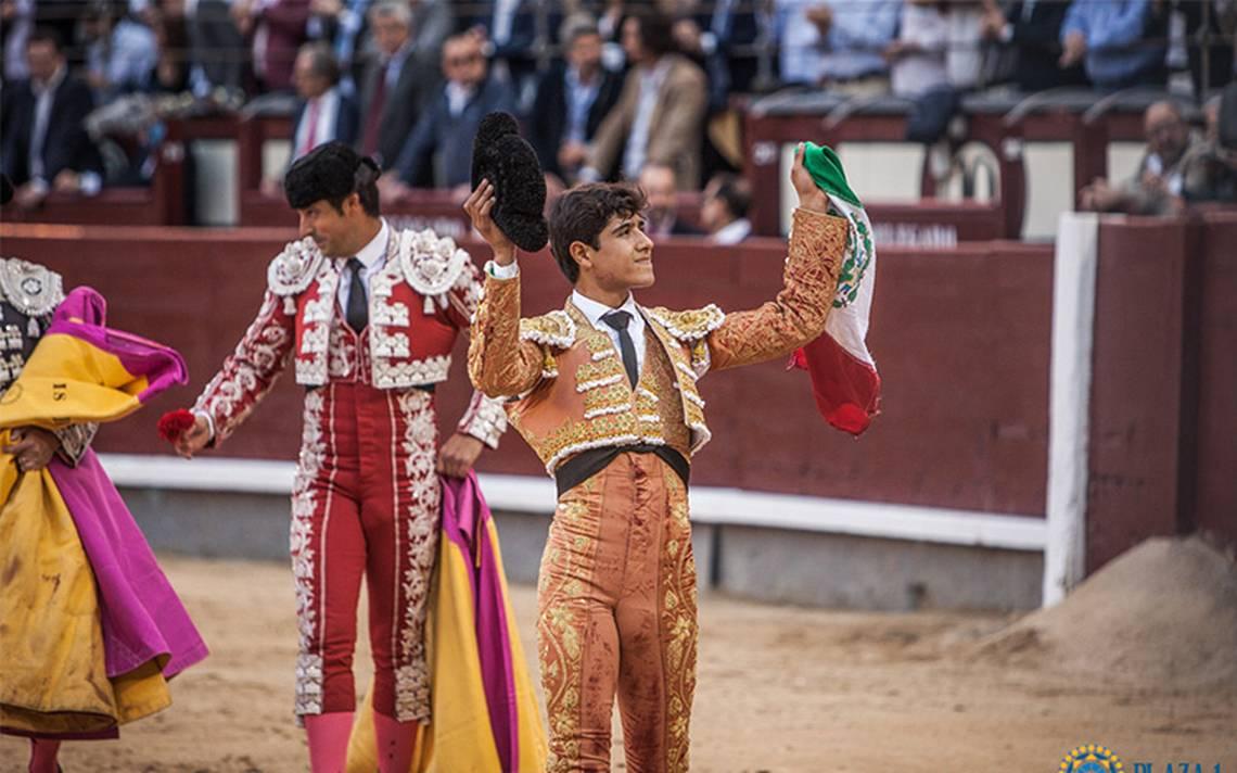 Destaca el torero Luis David en la corrida de seis Naciones