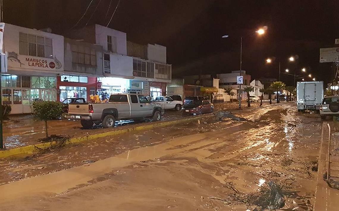 Zacatecas bajo el agua por lluvias