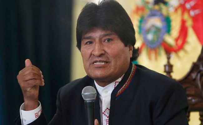 Buscará Evo Morales reelección pese a impedimento legal