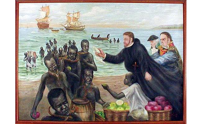 San Pedro Claver, el esclavo de los esclavos africanos