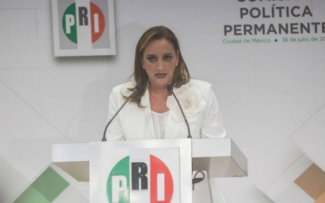 Anuncia Ruiz Massieu cambios dentro del PRI