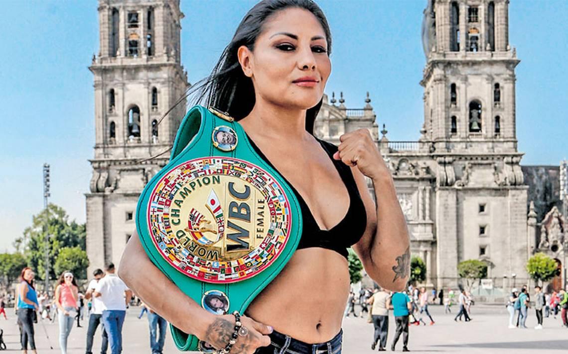Barbie Juárez, la mexicana con más peleas de título avaladas por el WBC