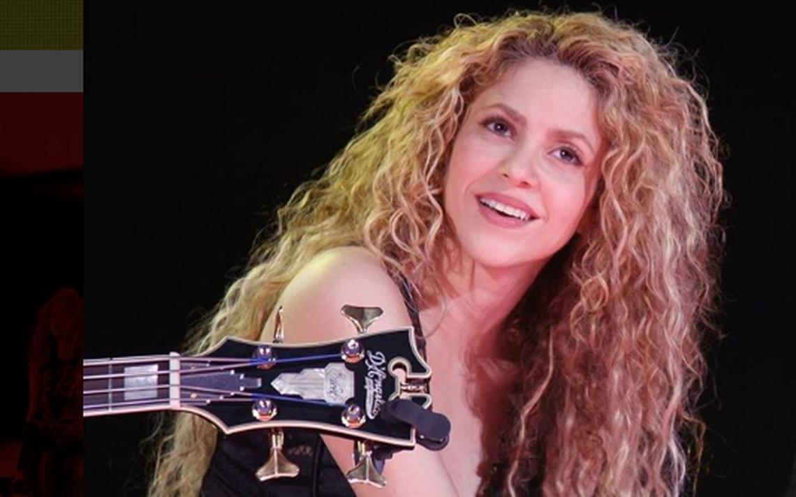 Casi listo el perfume de Shakira