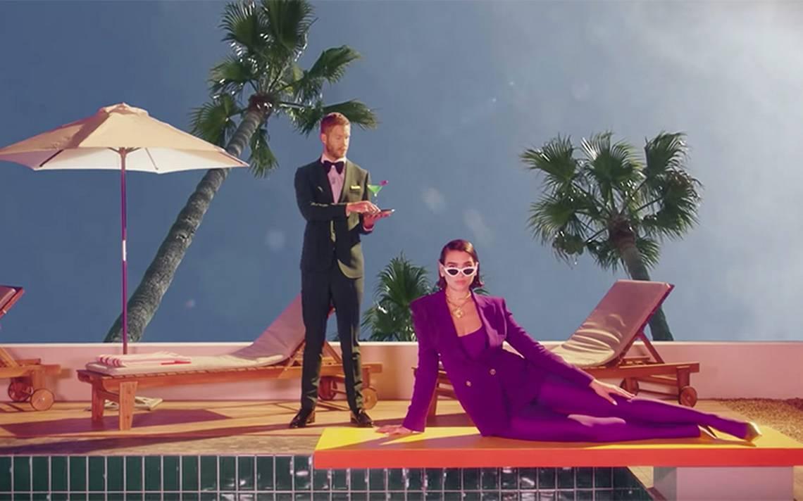"""Así protagonizan Calvin Harris y Dua Lipa el nuevo video de """"One Kiss"""""""