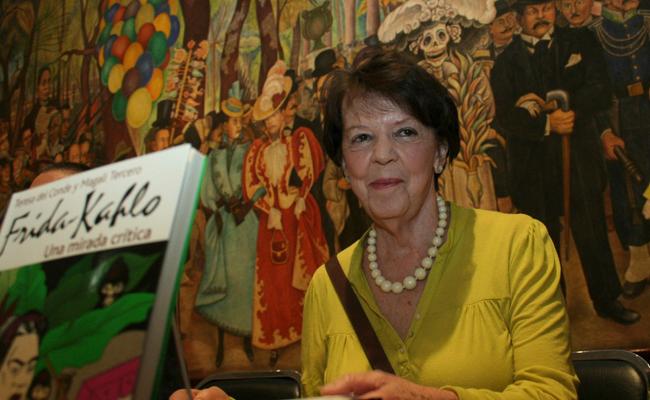 Preparan homenaje para la crítica de artes Teresa del Conde
