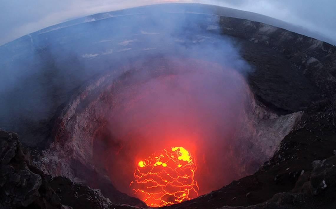 Así se ven desde el espacio las fisuras del volcán Kilauea en Hawai
