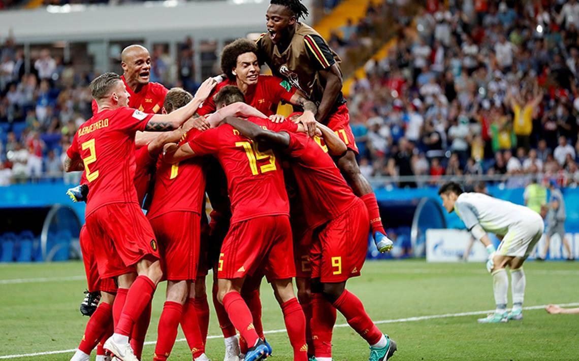En el último minuto, Bélgica le da la vuelta a Japón y lo vence 3-2