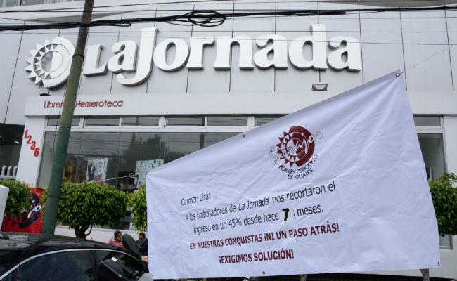 Conciliación y Arbitraje declara inexistente e ilícita huelga en La Jornada