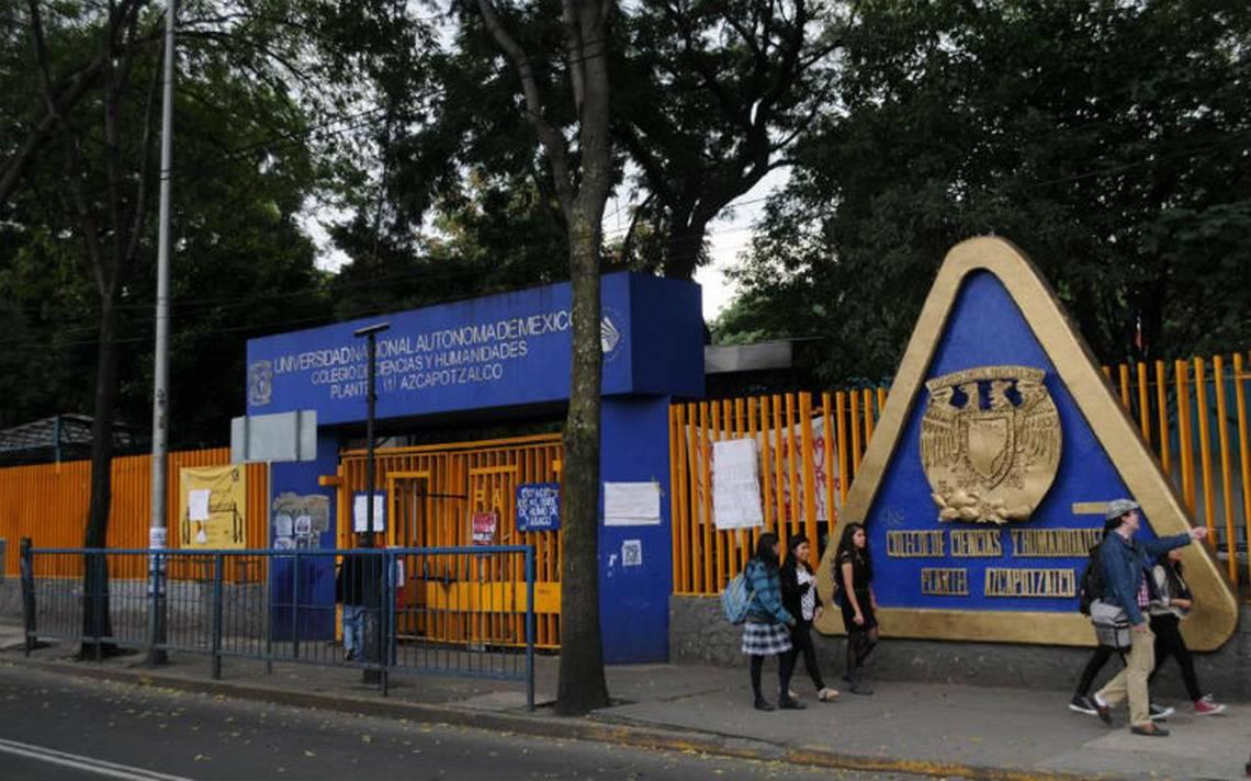 Luego de un mes en paro, reanudan clases en el CCH Azcapotzalco