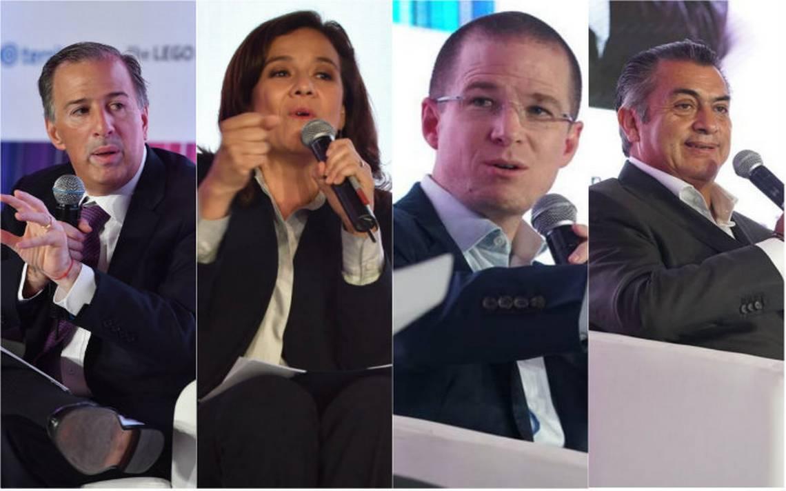 Sin AMLO, candidatos participan en el Foro 10 por la Educación