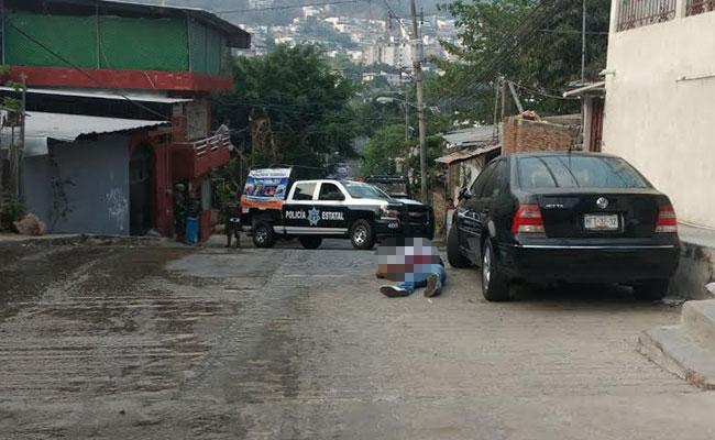 Asesinan a balazos a elemento de la Marina en Acapulco