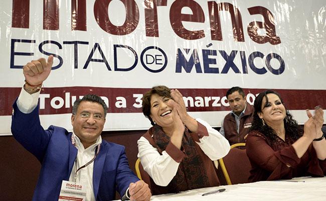 Registra Morena plataforma electoral para el Edomex