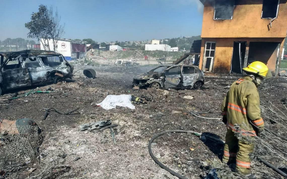 Ilegales, dos de los talleres que explotaron en Tultepec