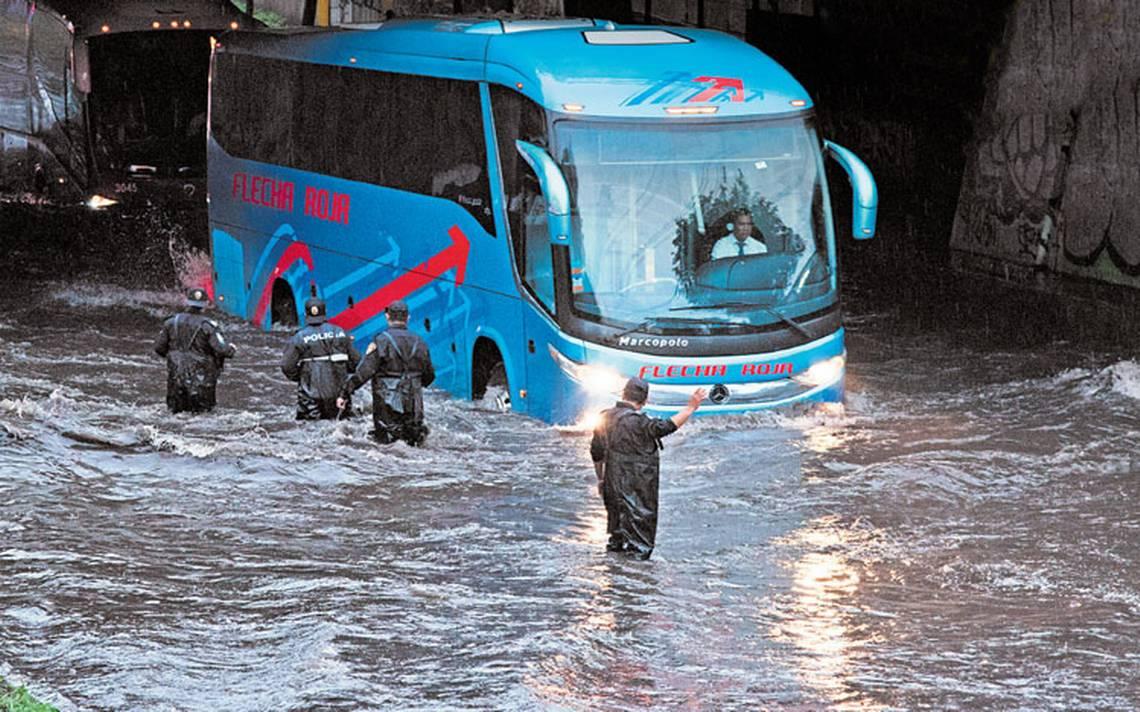 Gustavo A. Madero, Iztapalapa y Tlalpan, las delegaciones que más inundaciones padecen