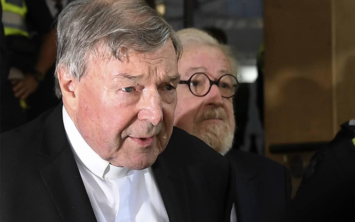 "Vaticano ""toma nota"" del juicio al cardenal australiano George Pell"