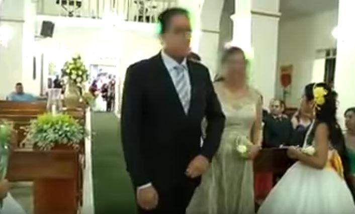 Reciben a los novios el día de su boda.. ¡A balazos!
