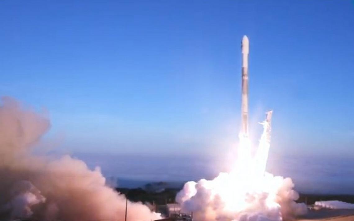 SpaceX lanza con éxito su quinto grupo de satélites Iridium