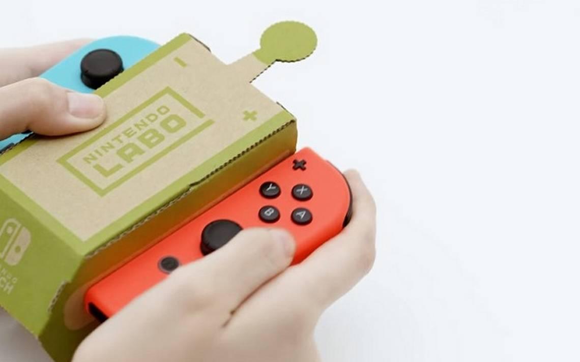 Nintendo quiere que juegues con cartón en sus nuevos accesorios