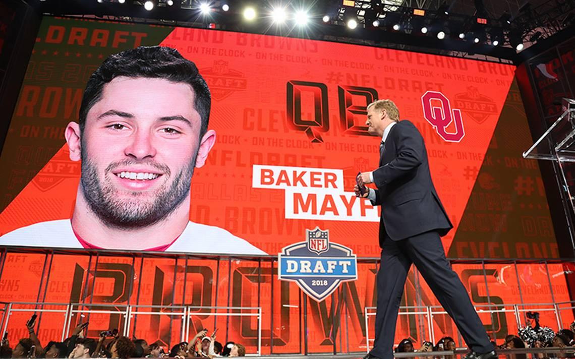 Se llevA? a cabo el Draft de la NFL de cara a la temporada 2018