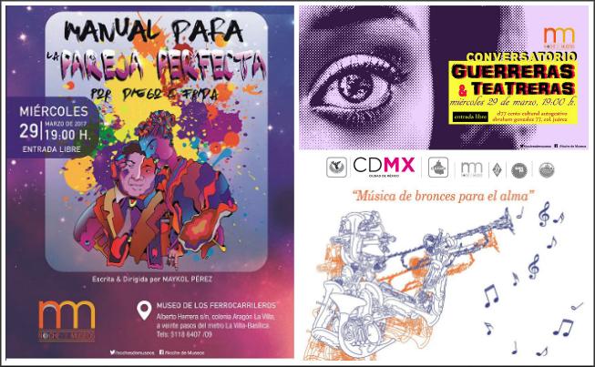 ¡Hoy es Noche de Museos! La CDMX prepara diversas actividades
